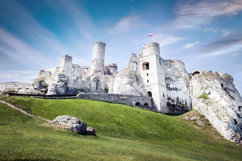 castillo para colorear